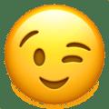Emoji piscando